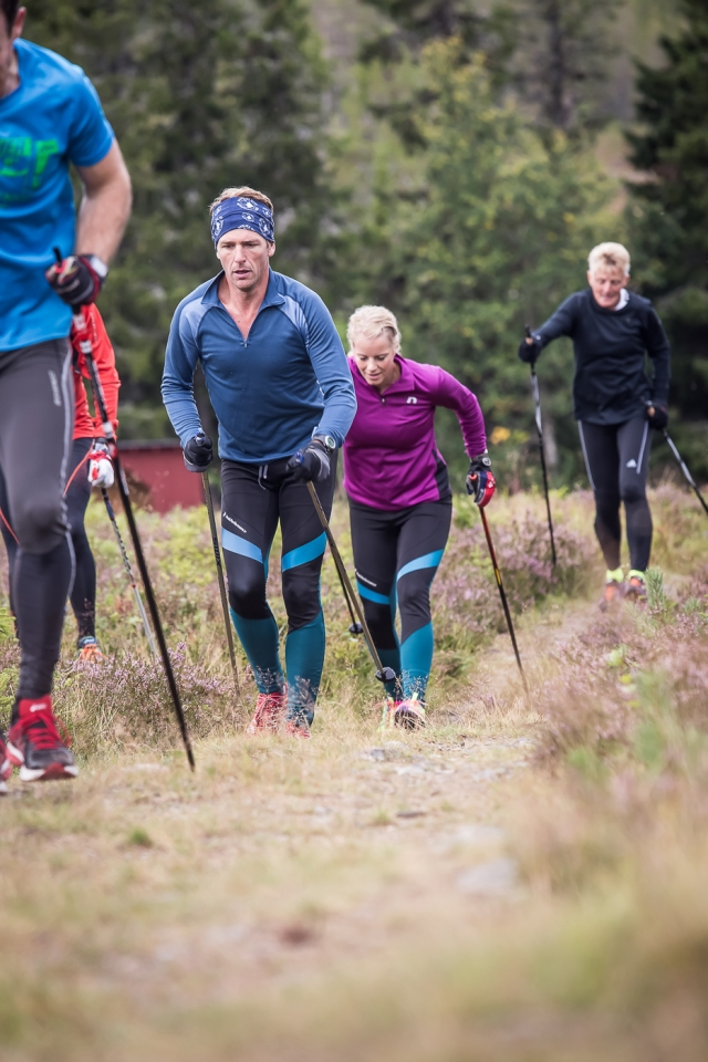 Skidgång Grövelsjön. Foto: David Erixon.