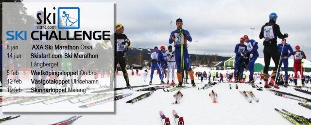 Skistart.com Ski Challenge, svensk långloppscup i vinter