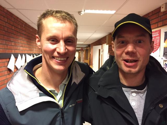 Erik Öhlund och Christian Olsson, två legender med stort L