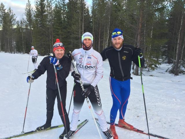 Henrik Eriksson, jag och Anders Backéus