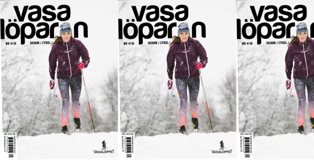 Vasalöparen 4-2016 omslag. Johanna Ojala.
