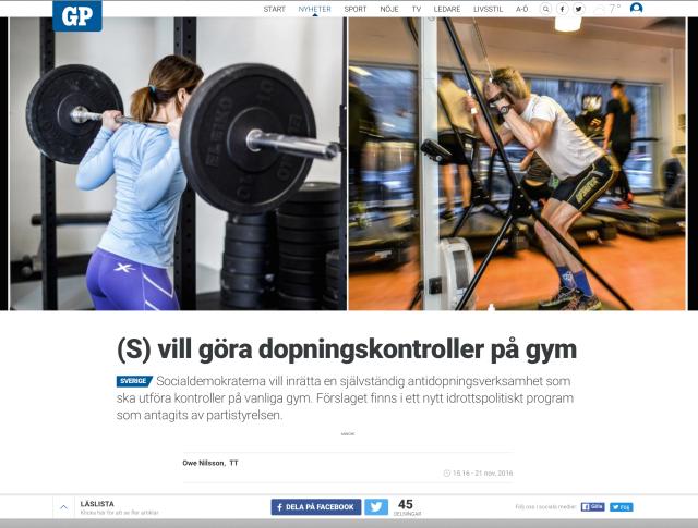 Göteborgs-Posten 21 nov 2016