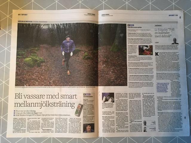 Borås Tidning 16 dec 2016.