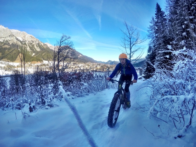 Fatbiking in Ramsau