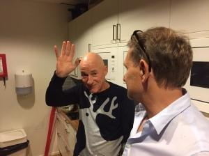 Kenneth Gysing (grymt bra på att skriva race reports) och Hasse Lodin (typ min chef)