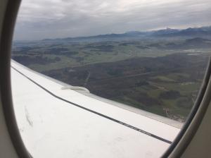 Grönt i Alperna igår