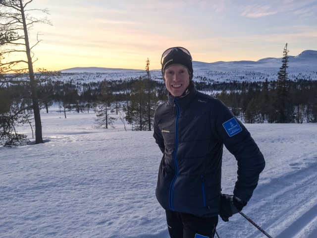 Oskar Lund i Grövelsjön