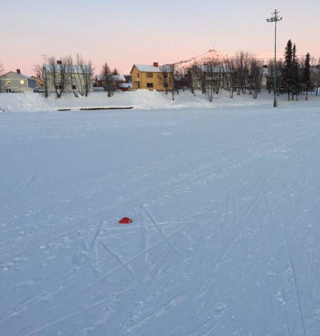 Matojärvi i Kiruna