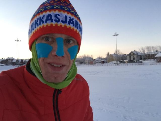 Jukkasjärvi IF. Ny, snygg och varm mössa!