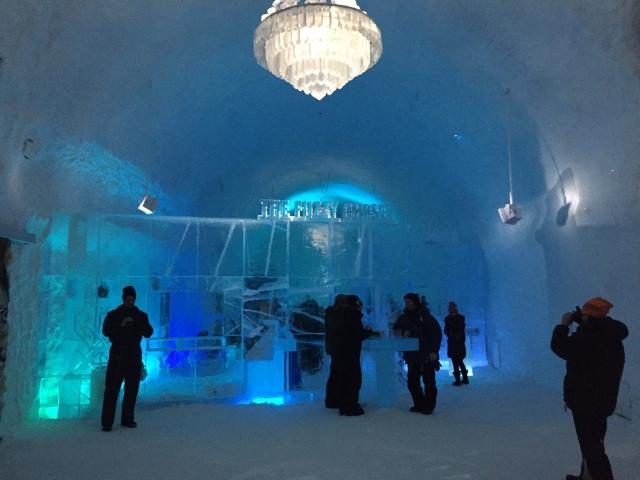 Entrén till Icehotel 365, som från och med nu kommer att vara öppet året om