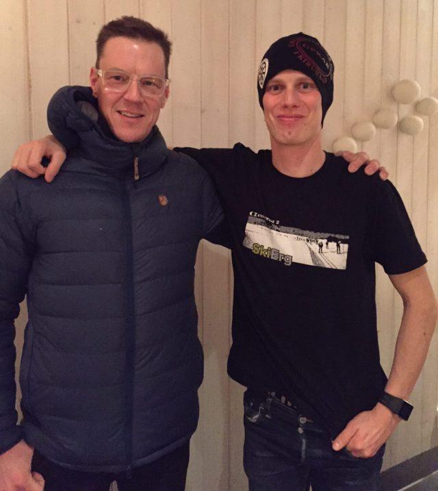Kristian Poromaa har skjutsat mig, vallat mina skidor stått för allmänt väldigt bra service. Trevligt också med alla middagar med Kristian och hans träningskompisar.