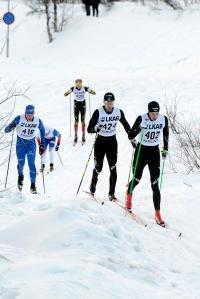 En talande bild. Jag hängde inte riktigt med uppför. Hem och träna! Foto: Anders Nilsson.