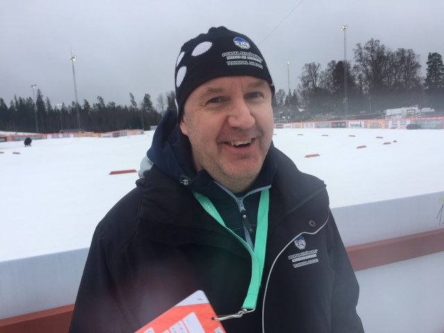 Thomas Granlund och jag jobbade delvis ihop med Ski Classics för några år sedan. Nu verkar han vara inne på trad.