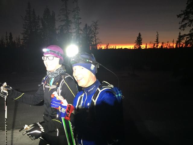 Erik Hedén och Stefan Kinell har tidigare varit på läger med mig i Grövelsjön och siktar i år på Nattvasan. Repa eller inte repa, det är frågan.