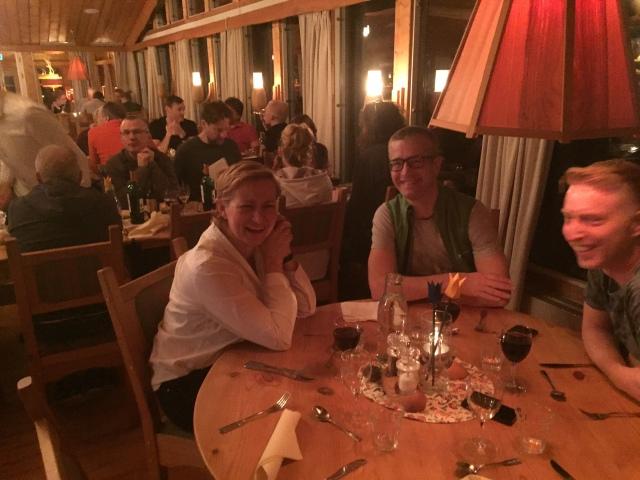 Restaurangen på STF Grövelsjön Fjällstation