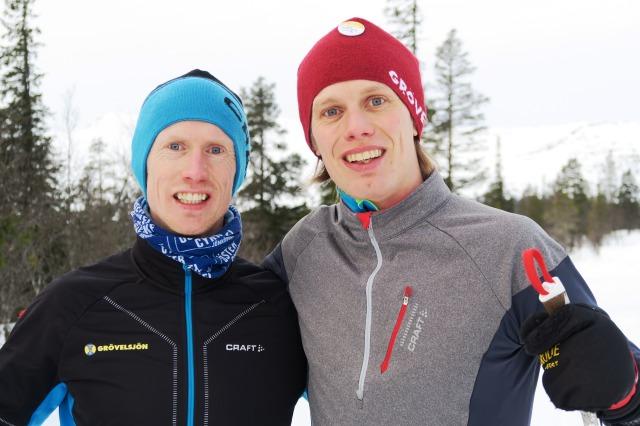 Oskar Lund och Erik Wickström. Foto: Niclas Bentzer.