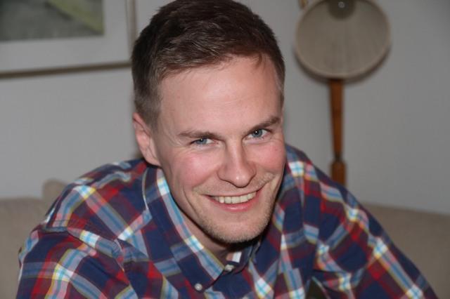 Magnus Samuelsson. Uppvuxen i Hedared, bara en sån sak.
