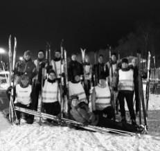 Skidlektion/teknikträning med Sigma på Borås skidstadion