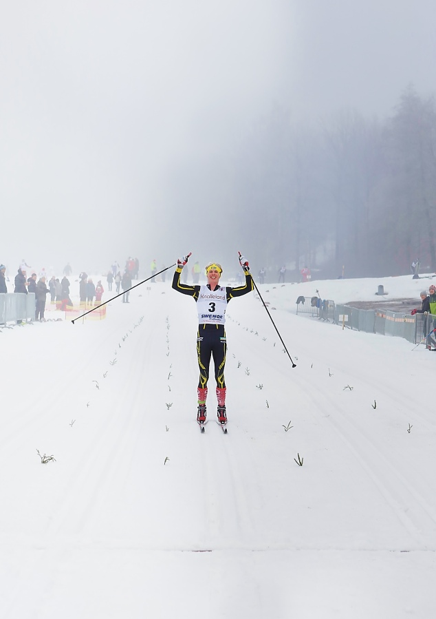 Erik Wickström vinner Borås Ski Maraton 2017