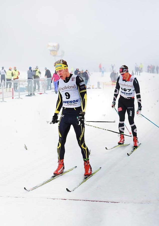 Martin Gotting slår Johan Kanto i spurten om tredjeplatsen