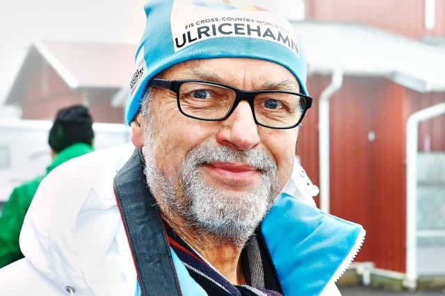 Ulf Wickström. Jag uppskattar alltid att ha med min far på skidtävlingar.