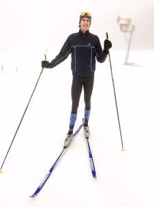 Marcus Svensson har vunnit sverigecuptävlingar i cykel och har en svårslagen kärlek till att konditionsidrotta. Jag noterade hans långa yllestrumpor utan tightsen i söndags. Då sade han att han blivit inspirerad av mig där. Stort för mig att vara en modeinspiratör till en cyklist som tävlat i världscupen.