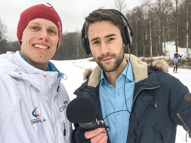 Håkan Montelius är frilansjournalist och kan det där med att intervjua