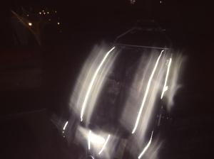Chariot CX2 i mörker