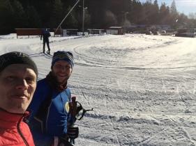 """Mikael Ragneheim har gjort en rejäl """"teknikresa"""" i skidspåret som har varit rolig att följa"""