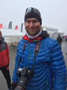 Tomas Eriksson fotade under loppet