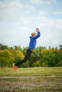 I samband med omslagsfotning av Smart konditionsträning tog vi (Luca Mara) även den del bilder för spänst, löpskolning etc.