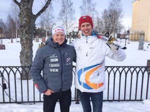 Kanotisten Joar Thele, som jag lärde känna vid ett läger med Team Xtra Personell i Norge 2013, gjorde ett fantomlopp och blev 12:a