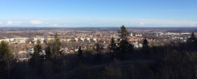 Utsikt från Billingen i Skövde