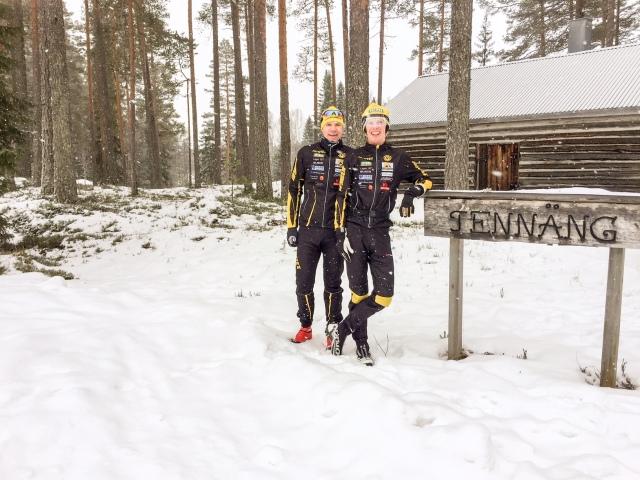 Z och jag i Tennäng