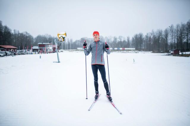 Porträttbild på Borås skidstadion. Foto: Anders Claesson.