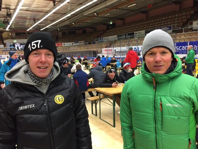 Mina klubbkompisar Martin Gotting (101:a) och Gustaf Ljungberg (234:a) lyckades båda nå sin bästa placering hittills