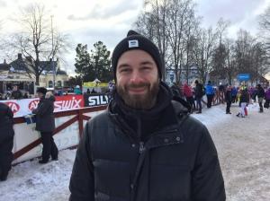 Ola Granfeldt, tidigare PR-ansvarig för Vasaloppet och då min främsta Vasalöparenkontakt, var helnöjd med att ha kört Nattvasan i år