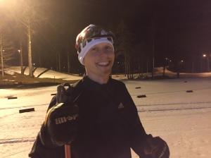 Martin Josefsson är alltid i bra slag. Men han tävlade inte igår.