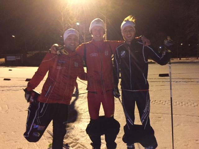 Daniel Abrahamsson aka Traddarn har inte kunnat tävla i vinter pga skador. Igår gjorde han comeback och förlorade precis spurten om 3:e-platsen
