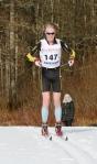 Erik Wickström mot seger i veteran-SM på skidor i Borås 2017