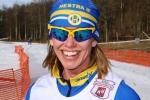 Johanna Sundström har presterat riktigt bra senaste vintrarna. Även i hennes träning och teknik petade jag i för några år sedan, dock en mindre variant än för Johan Kanto.