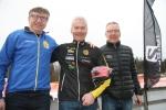 Kent Tigerberg, Börje Enander och Yngve Alfvén. Prestigefylld pall i H65.