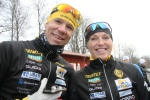 """Mattias """"Z"""" Carlzon och Anna-Karin Jonsson. Man väntar ju fortfarande på att de ska gifta sig."""
