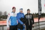 Anders Wikström (ej släkt), Adam Blomgren och Kenneth Rolling. Pallen i H50.