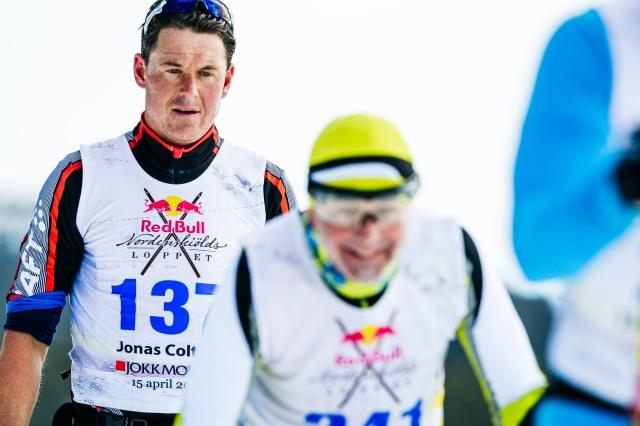 Jonas Colting Nordenskiöldsloppet 2017. Foto: Magnus Östh.