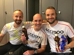Magnus Nygren, Håkan Sandahl och Henrik Turnér i CCC1000