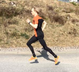 Löpteknik Erik Wickström