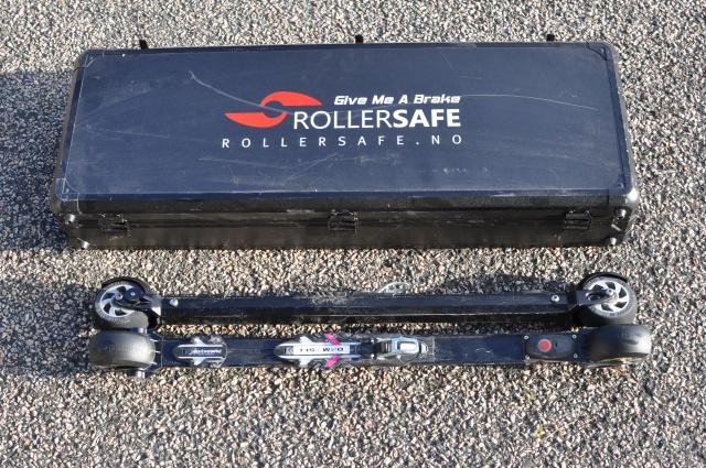 Rollersafe, rullskidor med broms.