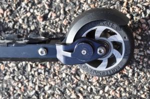 Rollersafe, rullskidor med broms. Bakhjul.