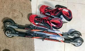 Elpex F1 Composite Skate- invigning igår